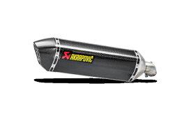 AKRAPOVICアクラポヴィッチ 政府認証マフラー SLIP ON LINE カーボン SV650 ABS SV650X ABS