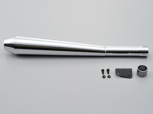 94499 デイトナ スリップオンメガホンタイプマフラー SR400 10〜