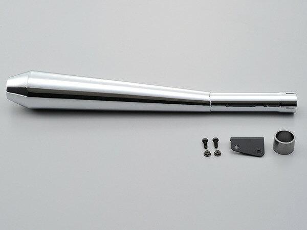 94500 デイトナ スリップオンメガホンタイプマフラー SR400 〜08