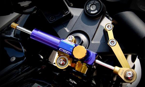 DIMOTIVマウントキット&ハイパープロ ステアリングダンパー(CSCタイプ)★セット ZX-250R