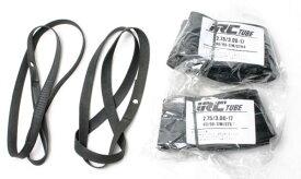 IRCタイヤチューブ+リムテープ 2セット 2.75-17 3.00-17 TR4