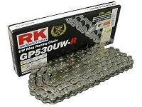 RKチェ−ン GP420MS-140 シルバー 420-140