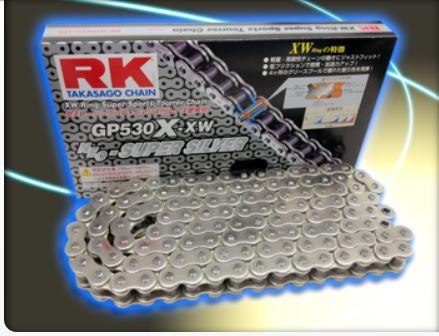 RKチェ−ン GP428R-XW-140 シルバー 428-140