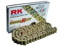 RKチェ−ン GV428R-XW-140 ゴールド 428-140