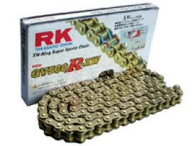 RKチェ−ン GV428R-XW-100 ゴールド 428-100