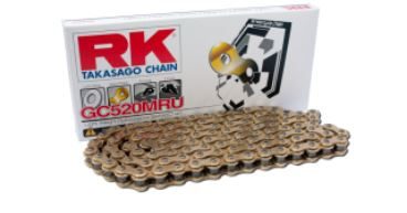 RKチェ−ン GC520MRU-100 CBR250R CB250F GSR250 GSR250F