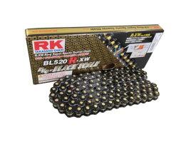 在庫有当日発送 RKチェ−ン BL520R-XW 110L ブラック 520-110