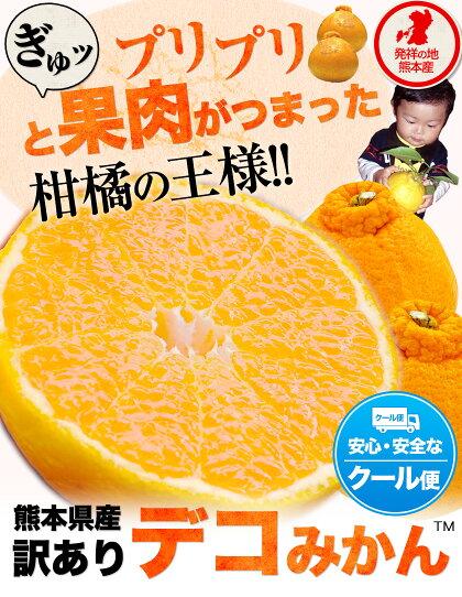 デコみかん訳あり熊本県産デコポン同品種送料無料ミカン柑橘産地直送