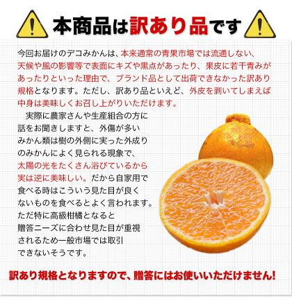 完熟デコみかん1.5kg熊本県産訳あり送料無料デコポン10kg家庭用柑橘産地直送取り寄せ箱旬みかん2セット購入で1セット分、3セット購入なら3セット分増量+和製グレープフルーツ1kgおまけ合計10kgwx