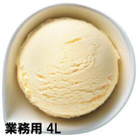 【業務用】ロッテアイス スターV6バニラ 4L  業務用アイス ロッテ 冷凍食品 冷凍食材 アイスクリーム バニラ