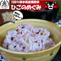 【送料無料】すべて熊本県産雑穀米ひごのめぐみ便利な小袋入り(15g×16袋)健康食クリックポスト便
