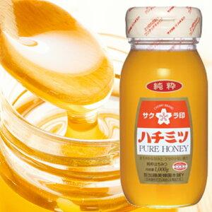 加藤美蜂園 サクラ印 純粋 はちみつ 1kg 瓶