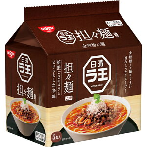 日清ラ王 担々麺 30食 (5食×6袋) 袋麺 全粒粉入り麺