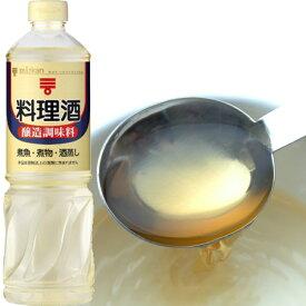 【送料無料】【1ケース】 ミツカン 料理酒 1L 12本
