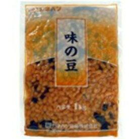 【冷蔵】カネハツ 業務用煮豆 味の豆 1kg(約100枚) 業務用賞味期限 お届けより82日前後】