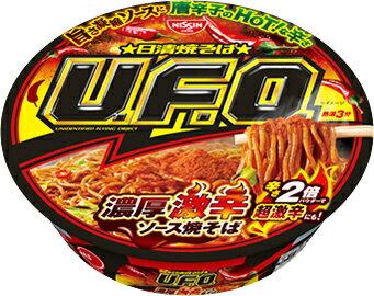 日清焼そばU.F.O.濃厚激辛ソース焼そば  1箱(12個入り)
