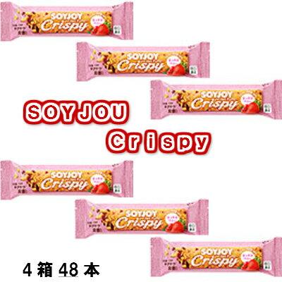 大塚製薬 SOYJOY Crispy ミックスベリー 1箱(12本)×4箱【送料無料・同梱不可】