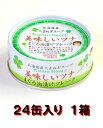 伊藤食品 美味しいツナまぐろ油漬けフレーク70g24缶入り1箱