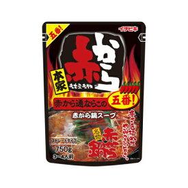 イチビキ 赤から鍋 つゆ 5番 ストレート 750g (3〜4人前)