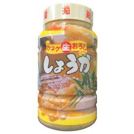 【冷蔵】 カネク 生おろししょうが 1kg 無塩 生姜 業務用