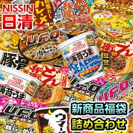 日清 新商品 変わり種 カップ麺詰め合わせ 福袋 12個入