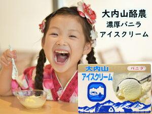 【冷凍】大内山酪農 大内山アイス バニラアイスクリーム 500ml 業務用 2個ご注文ごとに1個プレゼントキャンペーン!