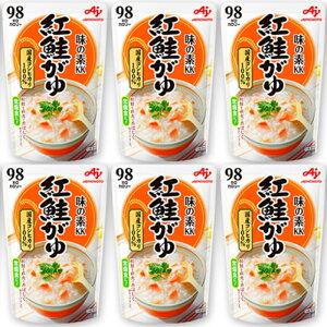 味の素 おかゆ レトルト 紅鮭がゆ 250g 27個 (9個×3箱) 非常食