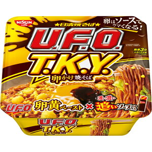日清 焼そばUFO TKY 卵かけ焼そば 濃い濃い追いソース付き×12個
