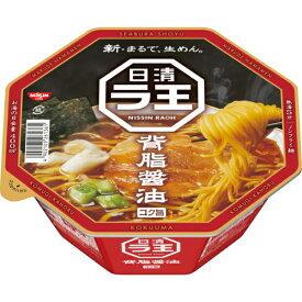 日清 ラ王 背脂コク醤油 115g 12個