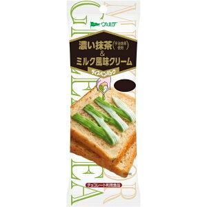 アヲハタ ヴェルデ ディスペンパック 宇治抹茶使用 濃い抹茶&ミルク風味クリーム 11g×4本入 48個(12個×4箱) ZHT