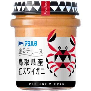 アヲハタ 塗るテリーヌ 鳥取県産紅ズワイガニ 73g 24個(6個×4箱) ZHT