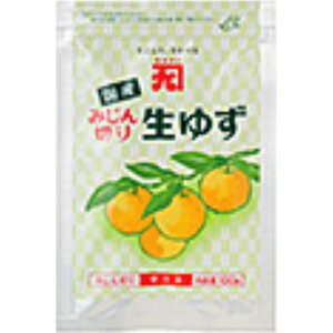 【冷凍】カネク みじん切り生ゆず 100g×30個(5×6)