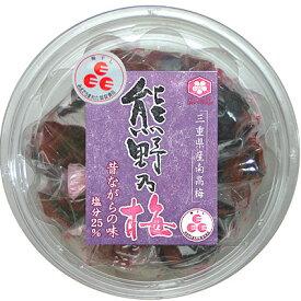 浜地屋 三重県産 紀州南高梅 懐かしの味 昔ながらの梅干し 160g 塩分25%