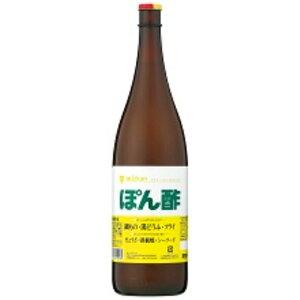 ミツカン 業務用 ぽん酢 瓶 1.8L×6本 ZHT