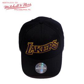 mitchell&ness/ミッチェルアンドネス バスケットボール 帽子 [283lalake-blkos NBAキャップ] 帽子_NBA_LOSANGELES_LAKERS_ロサンゼルスレイカーズ/2019SS 【ネコポス不可】
