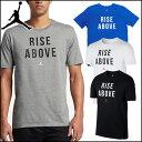 NIKE/ナイキ バスケットボール プラクティスシャツ [882100 ジョーダン_MOTIVATIONAL_S/S_Tシャツ_2] プラシャツ_Tシ…
