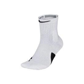 NIKE/ナイキ バスケットボール ソックス [sx7625-100 エリート_ミッド_ソックス] 靴下_バッソク/2018FW 【ネコポス対応】