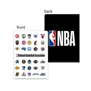 ジャスティス バスケットボール アクセサリー [nba33604 クリアファイル(2枚組セット)] NBA_ファイル_学校_文房具 【ネコポス対応】