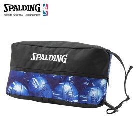 SPALDING/スポルディング バスケットボール バッグ [42-002mbl シューズバッグ] シューズケース_シューズ入れ 【ネコポス不可】