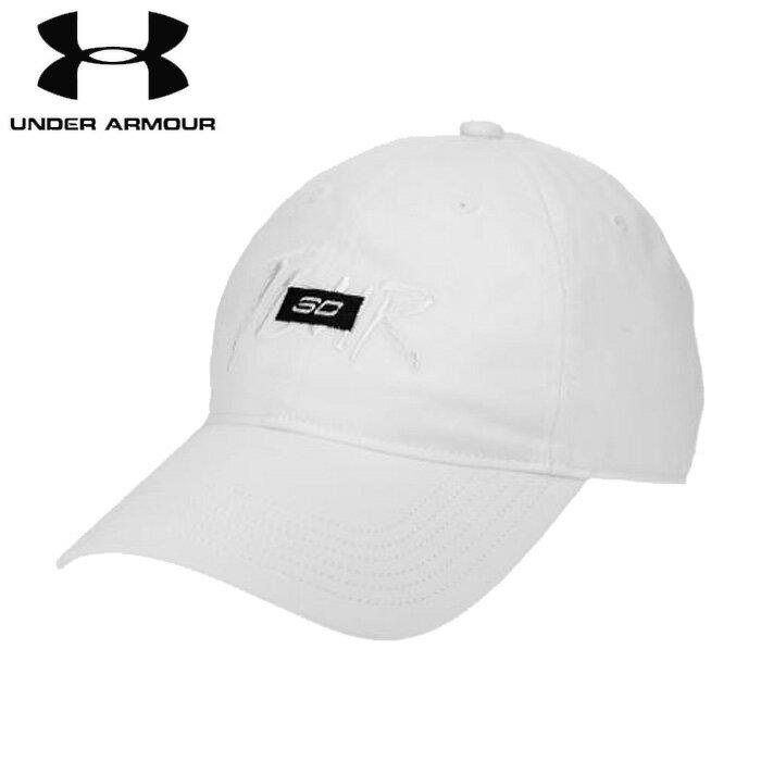 under_armour/アンダーアーマー バスケットボール アクセサリー [1346482-100 SC30_Tour_Dad_Cap] 帽子_キャップ_ステファン・カリー/2018FW 【ネコポス不可】