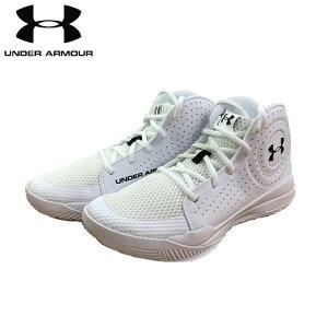 under_armour/アンダーアーマー バスケットボール バスケットシューズ [3022778-100 UA GS_Jet_2019SYN] バッシュ_子供サイズ_ミニバス 【ネコポス不可】