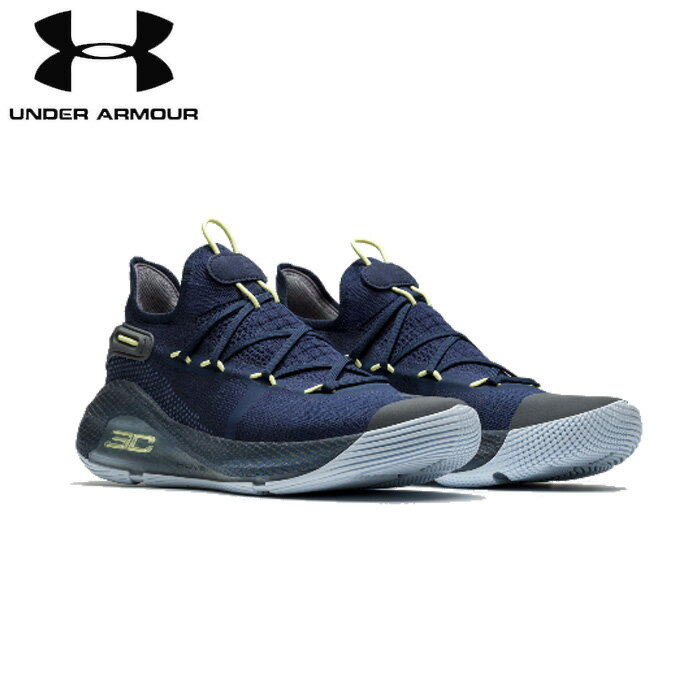 under_armour/アンダーアーマー バスケットボール バスケットシューズ [3020612-402 UA_Curry_6_カリー6] Working_On_Excellence_バッシュ_curry_GSW/2019SS 【ネコポス不可】