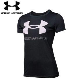 under_armour/アンダーアーマー トレーニング トップス [1360113-001 UAテックビッグロゴグラフィックTシャツ] レディース_半袖_Tシャツ 【ネコポス可】