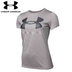 under_armour/アンダーアーマー トレーニング トップス [1360113-585 UAテックビッグロゴグラフィックTシャツ] レディース_半袖_Tシャツ 【ネコポス可】