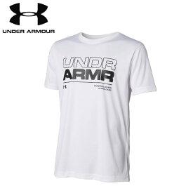 under_armour/アンダーアーマー バスケットボール トップス [1355199-100 ベースラインテックTシャツ] 半袖_Tシャツ_部活_練習着_ジュニア_ミニバス 【ネコポス対応】
