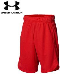 under_armour/アンダーアーマー バスケットボール パンツ [1364725-600 ユースビッグロゴショーツ] キッズ・ジュニアサイズ_子供サイズ_ミニバス_バスパン/2021SS【ネコポス対応】