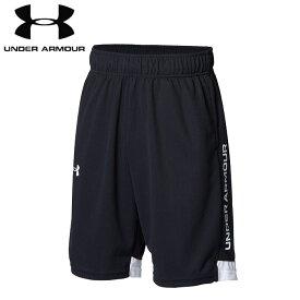 under_armour/アンダーアーマー バスケットボール パンツ [1364726-001 ワンポイントロゴショーツ] キッズ・ジュニアサイズ_子供サイズ_ミニバス_バスパン/2021SS【ネコポス対応】