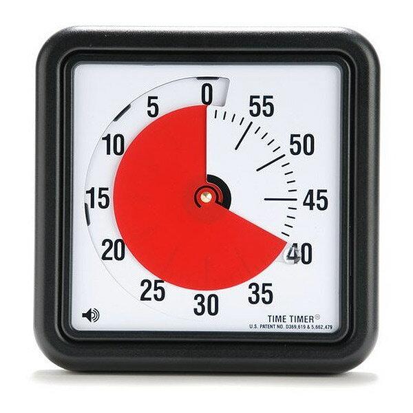 タイムタイマー Mタイプ 20cm TIME TIMER M 8送料無料 一目で分かる アラーム付き 夏休みの宿題に音アリ・音ナシ選べる大きいので見やすい 幼稚園 保育園にもオススメ※沖縄・九州・北海道・離島は送料別