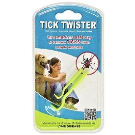Tick Twister ティックツイスター 2本入り ダニ取り 【メール便のみ送料無料】並行輸入品2サイズ大小各1本入り 何回でも使用可能犬猫等ペットのお散歩、山菜採り、キャンプ、アウトドア、登山の際の救急セットに。※代引き・ニッセン後払いできません