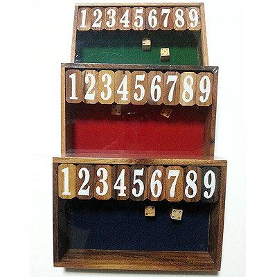 ジャックポット ダイス ゲーム(木製) 英語版 Sサイズ【送料無料】Jackpot Dice Game (Wood) 並行輸入品※沖縄・北海道・九州・離島は送料別です※お得品のため、ラッピング不可
